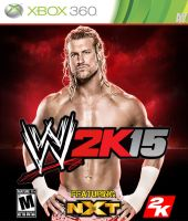 W2k15 Cover Featuring Dolph Ziggler by AYB12 by AyBenoit12