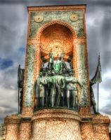 Taksim Square -Monument of the Republic - Istanbul by vicymarine
