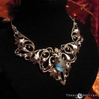Fairy Dust - Necklace by Atelier-TerraNostra
