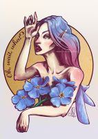 Forget-me(-not) by Meggie-M