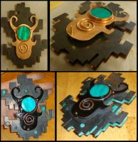 Midna Pin Before and After by silverz777