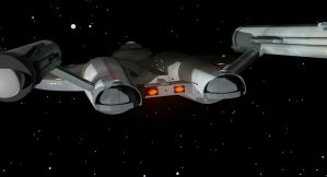 NX Class TOS Enterprise Aft by JayPrower