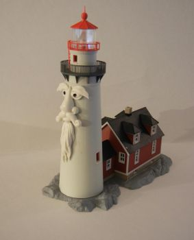Laurence the Lighthouse by SilverBand7