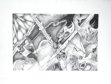 Abstract in Pencil by TheGreatAhtnamas