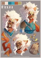 The White Shaman - Helki (expressions) by Miss-Pannacotta