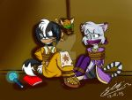AT::Arutho,Bonnie and Piff by Sitinuramjah