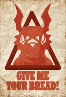 Obey Guilmon by AdamClowery