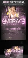 Embrace House Party Flyer Template by ImperialFlyers