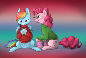 Surprise Gift by ScarletAddendum