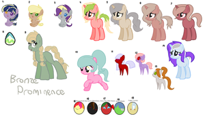 Previously Unsold Pony Adopts! by eskimoadopts