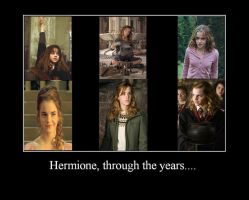 Hermione Through The Years by hot-stuff123
