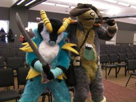 Anthrocon 2013: Cobalion and Terrakion