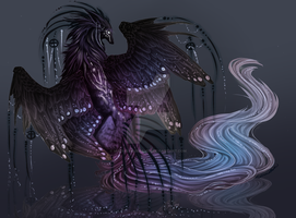 QuillDog Deity: Pearlescent Shore (CLOSED) by MischievousRaven
