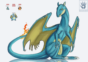 Pokefusion Nidozard by DemonML
