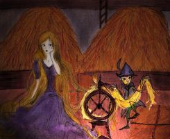 Rapunzel and Rumpelstiltskin by SamsaTales