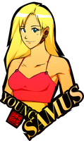 13-30 Young Samus by Rukunetsu
