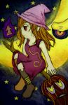 traveling witch.. by dheeka