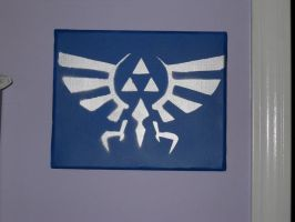 Hyrule crest by Toastastic