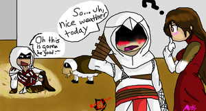 Assassin's Bet Part 5 by Roselinath
