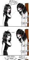 Jeff x Jane Comic: Moment Ruined by Black-Raven19