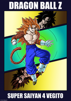 Vegito Super Saiyan 4 by Elyas11