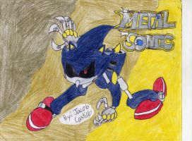 Metal Sonic by Jscsonic