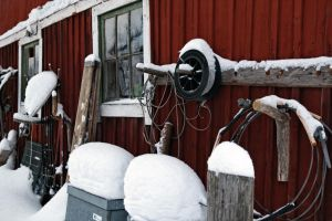 Tools In Snow 1 by Perzec
