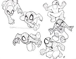 Spidey Mini by Vauz