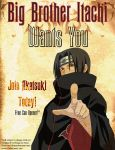 Itachi Wants You Poster by thedoombuggy