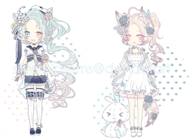 [CLOSED] Set Price Flower Demon by silverblossoms