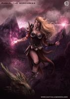 Amber, The sorceress by nathaliagomes