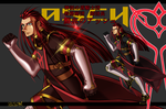 Fanart for Tales of the Abyss Asch 1 by Xbasler-Issei-2082