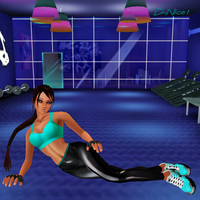 IMVU: Lara's Workout Gym by Krypto4CatSuits