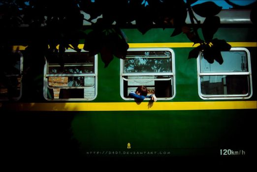 one way ticket by D4D1