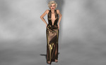 Marilyn Models My New Evening Gown 2 by AmethystPendant