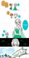 Jelsa Frozen Fever by KYOooTERCERA
