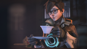 [SFM Overwatch]- Tracer Tea by Dafomin