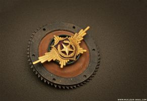 Large Russian Sawblade Insignia by NuclearSnailStudios