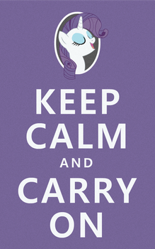 'Keep Calm' by PeregrinFrisk