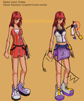 DF contest -kairi Limit form by darksorasan