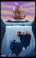 Collab: Hollow Bastion by BecSparrow
