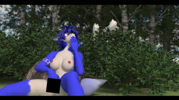 Out in Nature Final Censored by Silver-Vulpine