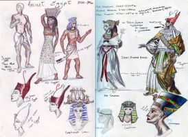Costume History - Egyptian by obiwankatie
