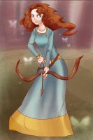 I am Merida by Nightsi
