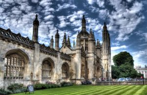Keep off the grass! King's College, Cambridge, UK by aglezerman