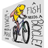 A Fish Needs A Bicycle by DJ-Erock