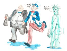 Uncle Sam's mad affair by zormna