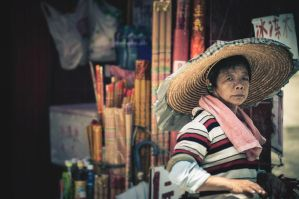 The Incense Lady by ramacar137