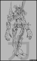 Mecha Design 01 by ashvey