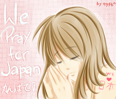 PRAY FOR JAPAN by sara-chibi